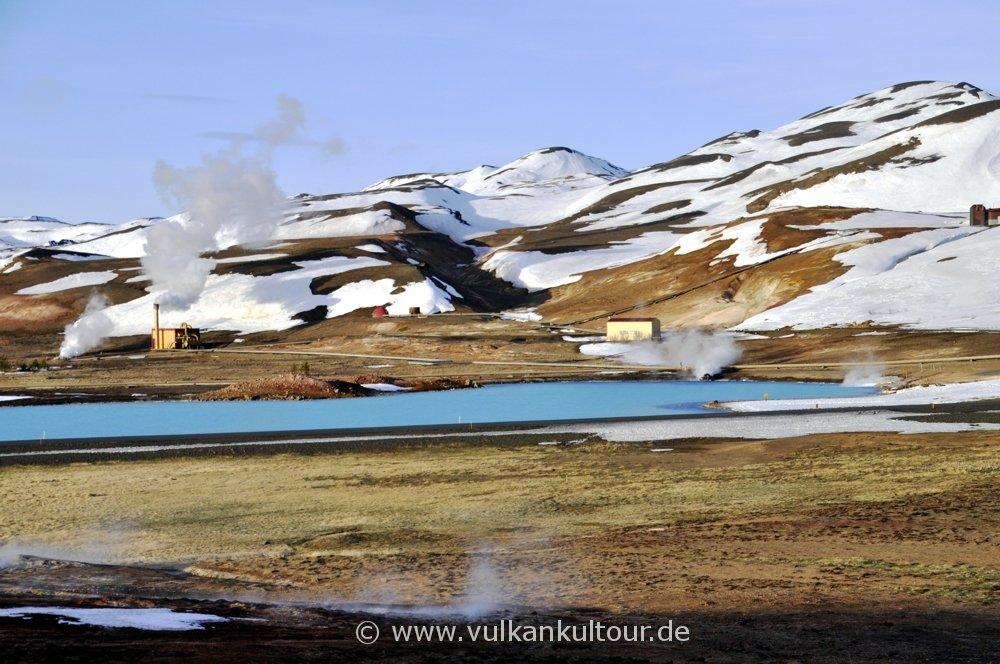Geothermalkraftwerk am Myvatn (Bjarnaflagsstöð)
