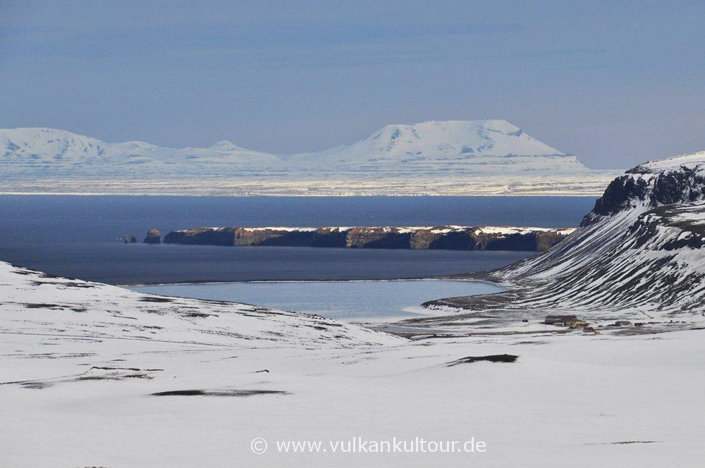 Blick über den Þistilfjörður