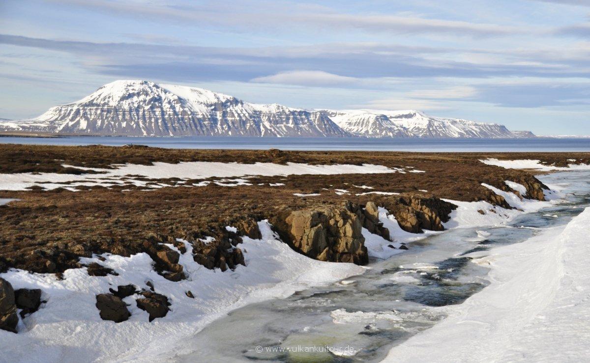 Der Finnafjörður vor der Langanes-Halbinsel