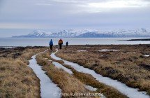 Wanderung zur Fuglabjarganes-Halbinsel