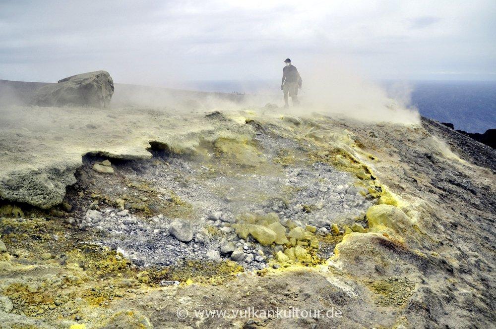 Auf dem Gran Cratere