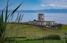 Alter Leuchtturm von Ribeirinha (1998 bei einem Erdbeben zerstört)