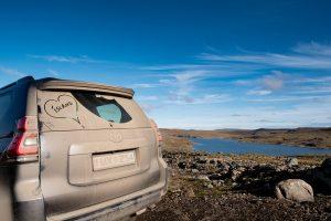 Über die Hochebene der Kollafjarðarheiði