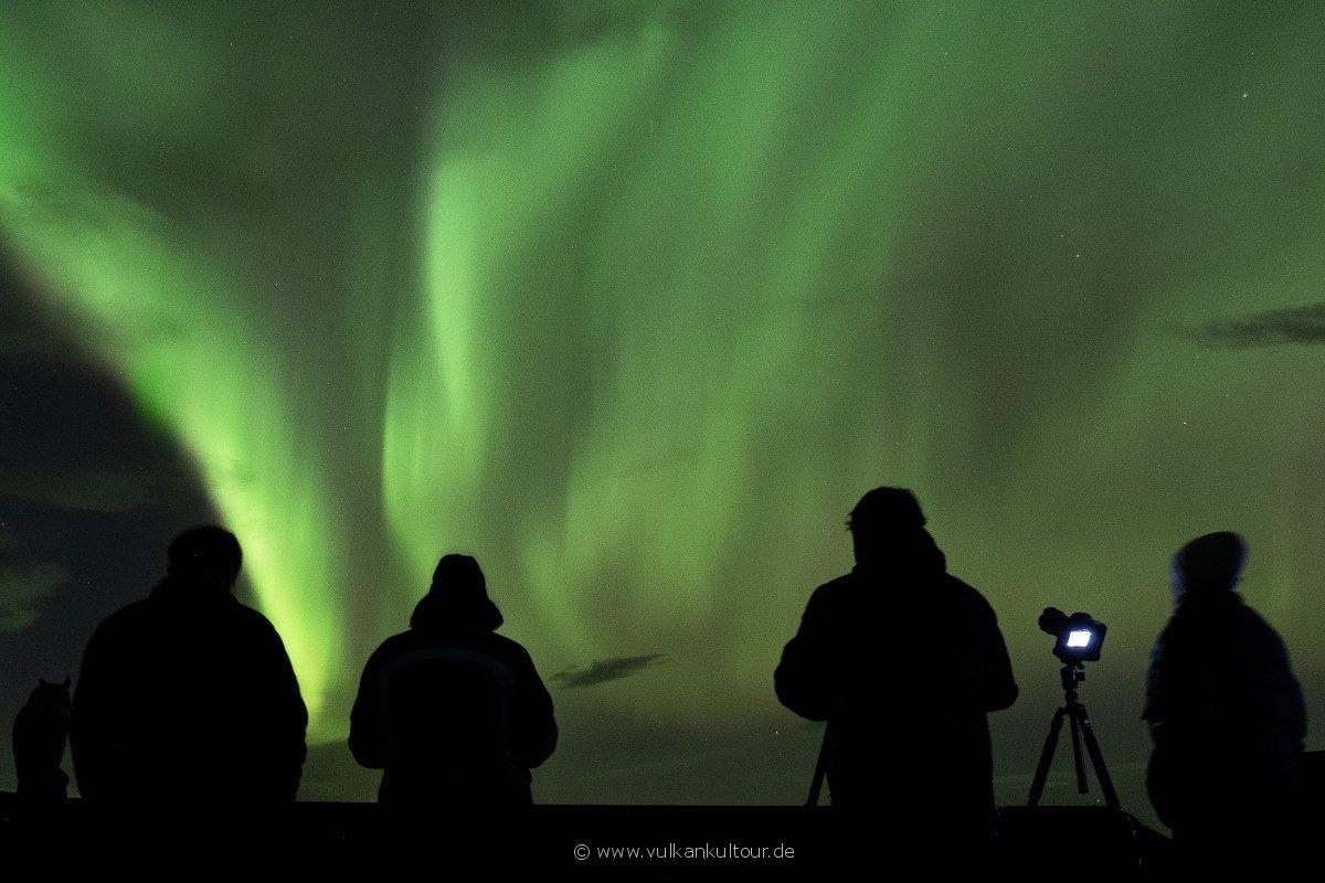 Phänomenale Nordlichter über uns