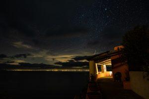 Unsere Terrasse auf Alicudi