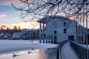 Das Rathaus von Reykjavik