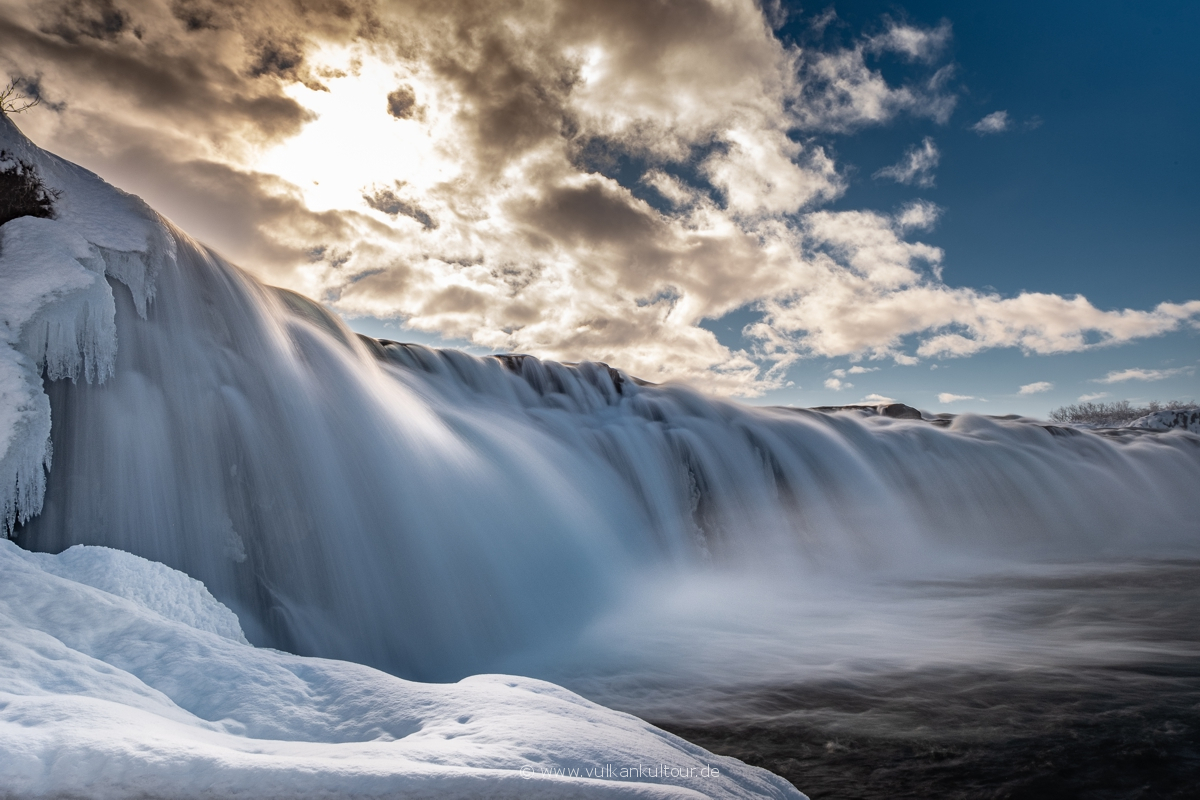 Wunderschöner versteckter Wasserfall