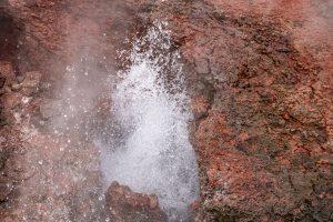 Deildartunguhver - Islands größte Heißwasserquelle (ein Teil davon)