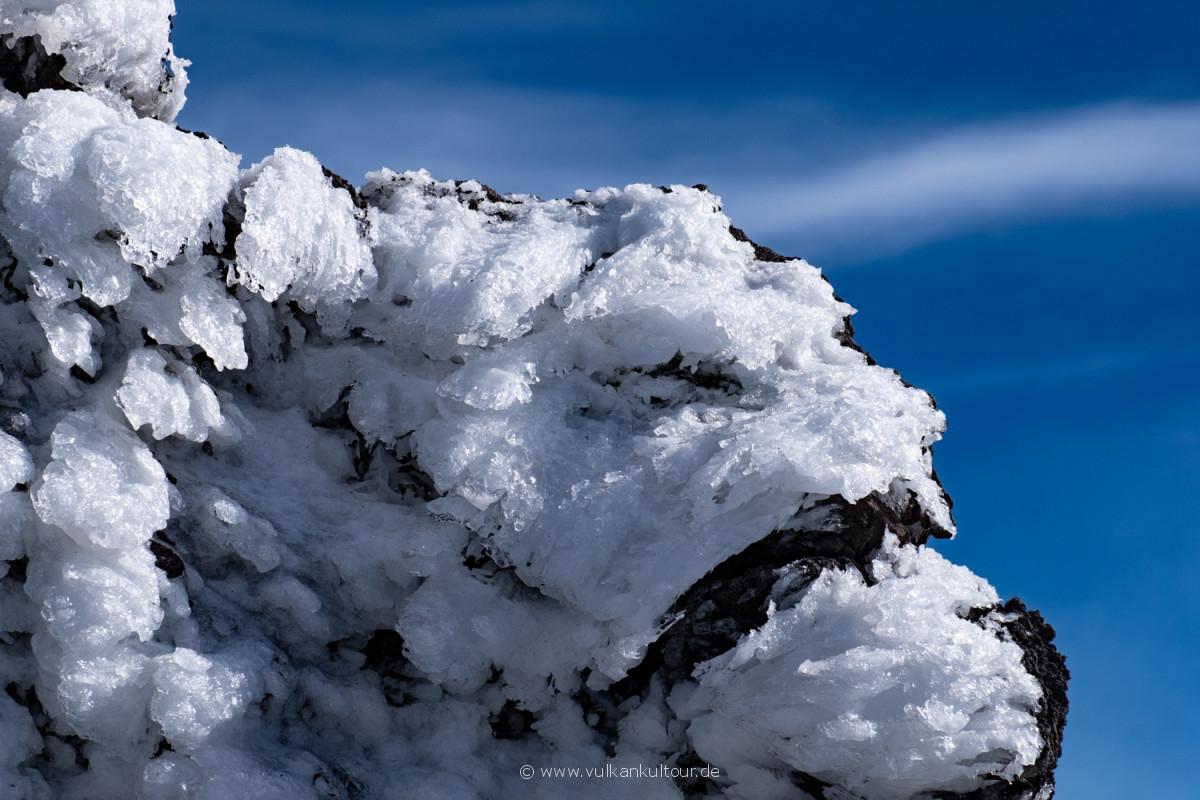 Winter auf 3300 Metern Höhe am Ätna