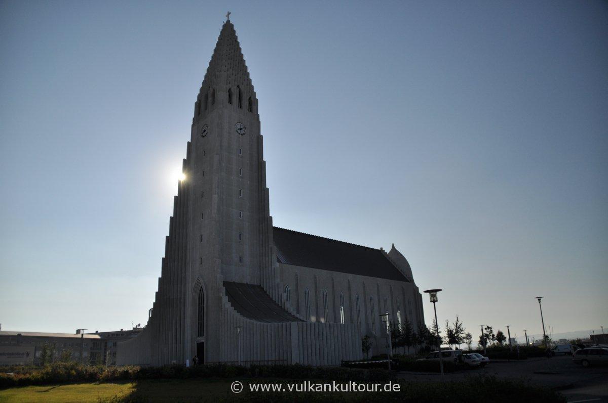 Hallgrimskirche in Reykjavík