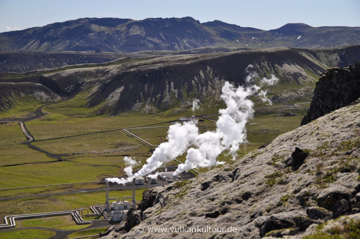 Nesjavellir Geothermalkraftwerk (Hengillgebiet)