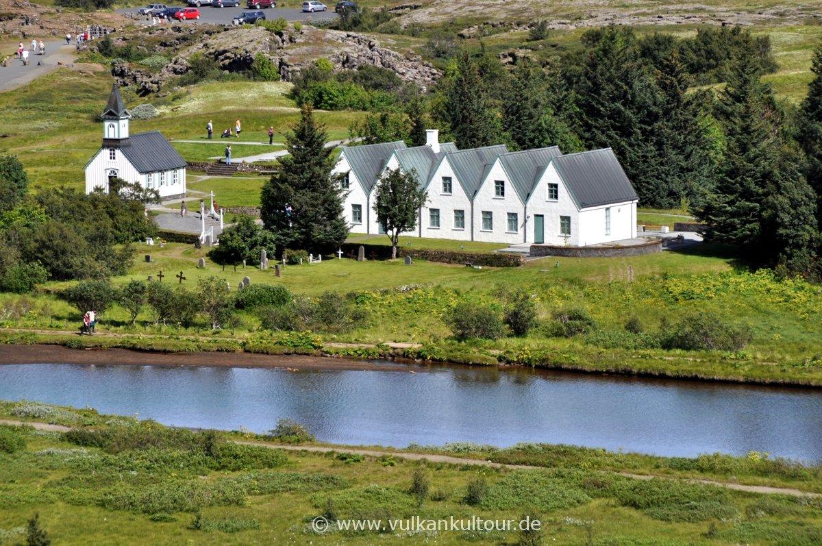 UNSECO Weltkulturerbe Þingvellir