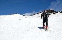 Skitourenziel Ätna Gipfelkrater