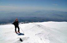 3000 Meter über Sizilien - Blick wie aus dem Flugzeug