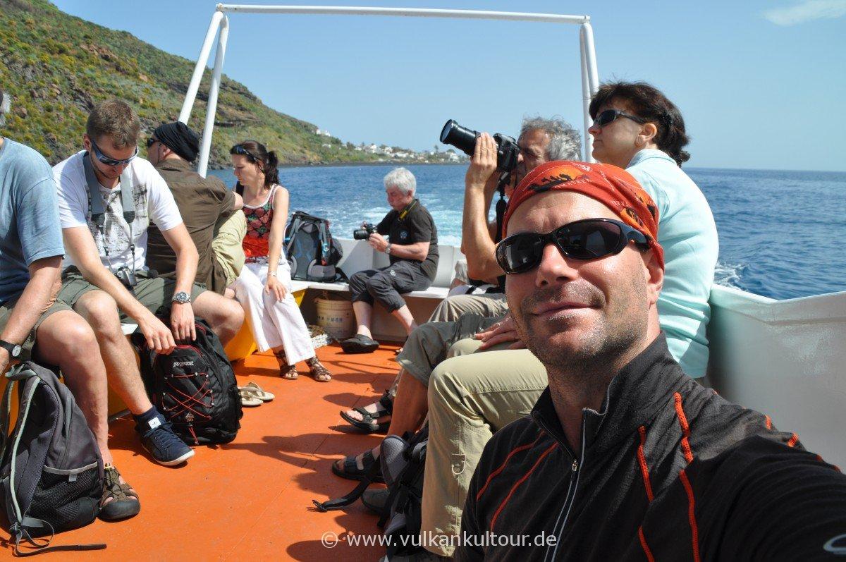 Inselrundfahrt um den Stromboli