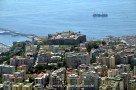 Landeanflug auf Neapel - Castel Sant' Elmo auf dem Vomero