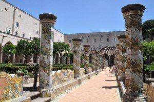 Neapel - Majolikakacheln im Kloster Santa Chiara