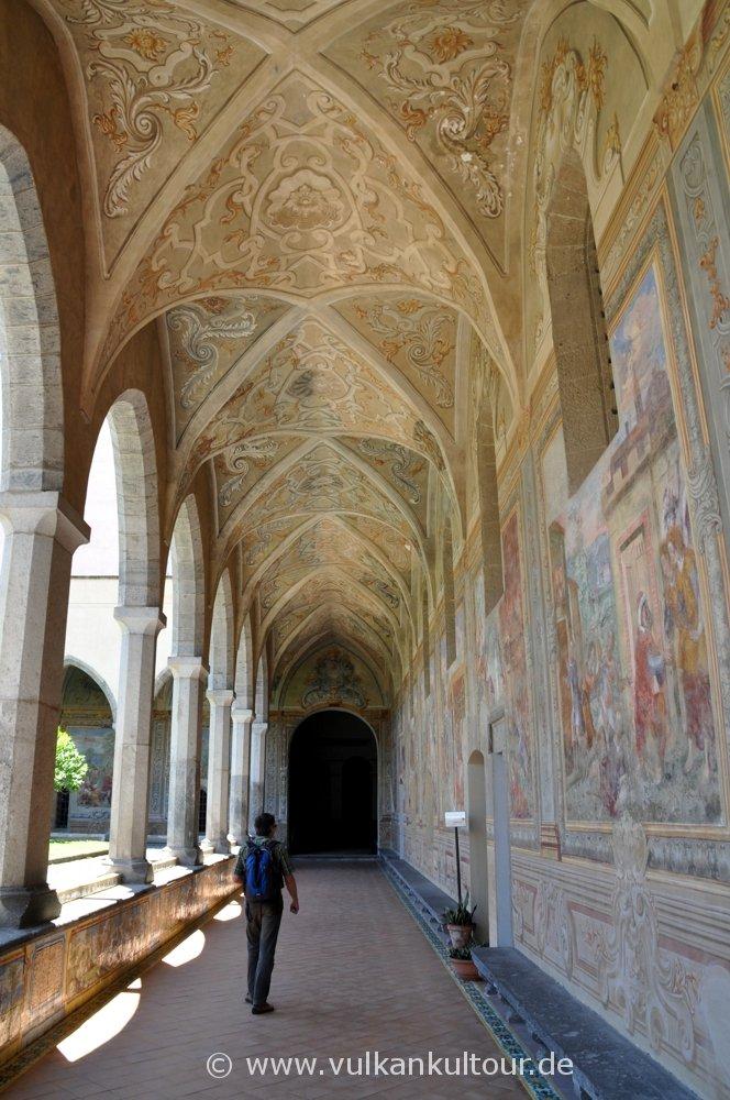Napoli - Kloster Santa Chiara - Kreuzgang