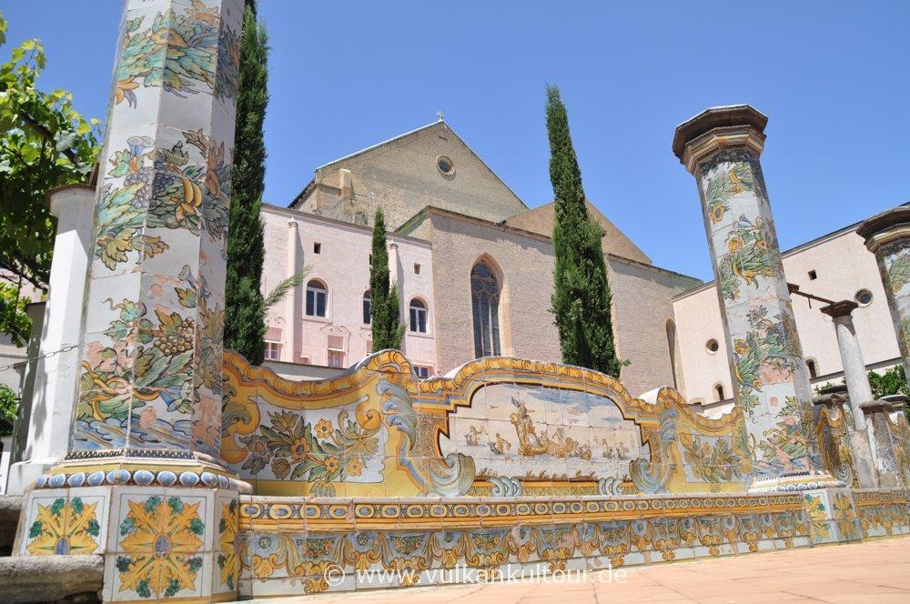 Napoli - Kloster Santa Chiara - Majolika-Kacheln