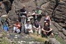 Mittagspause - umgeben von Lava
