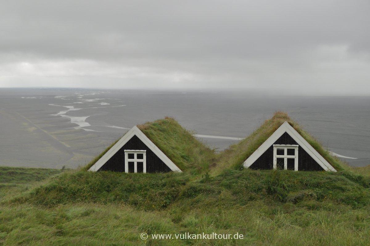 Das alte Farmhaus Sel (Skaftafell-Nationalpark)