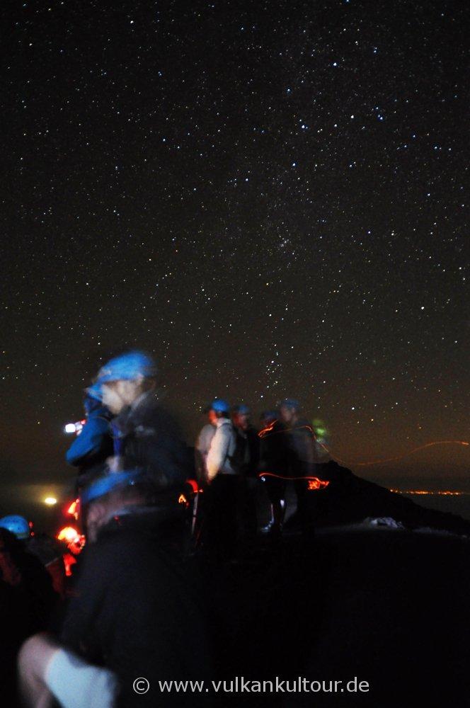 ... unter einem sagenhaften Sternenhimmel!