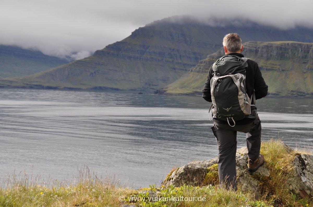 Wanderung bei Neskaupstaður