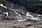 Dampfschwaden im Vulkan Solfatara