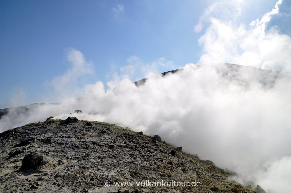 Vulcano - durch Vulkandämpfe auf dem Gran Cratere