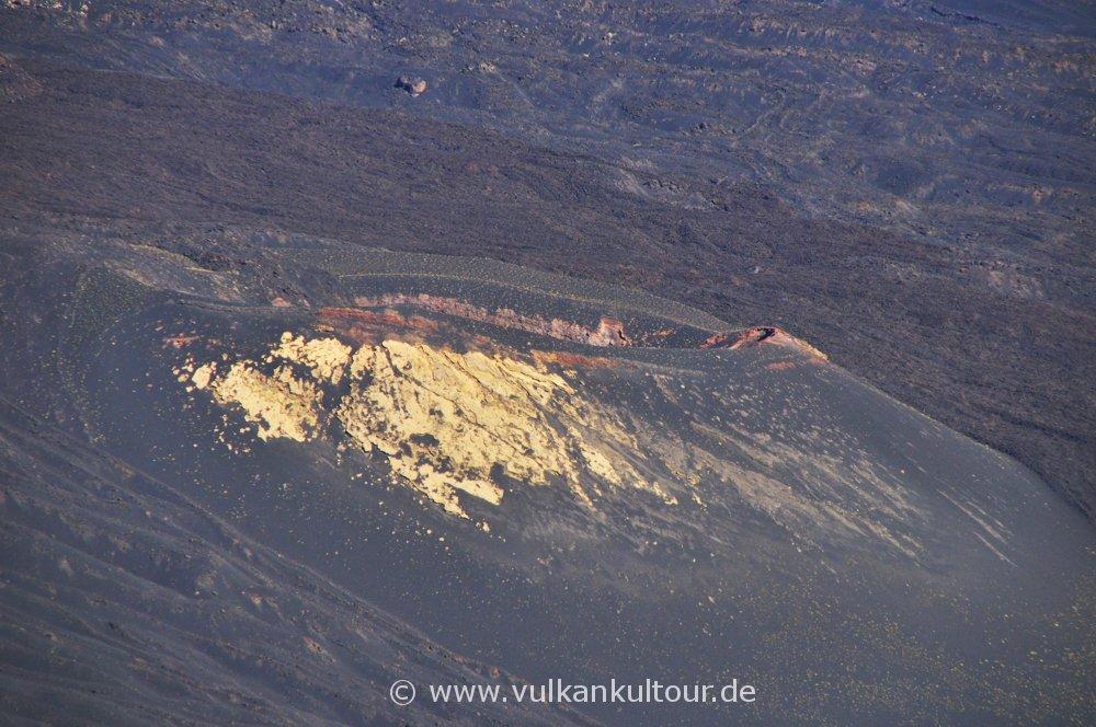 Ätna - Monte Centenari im Valle del Bove