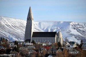Hallgrímskirche in Reykjavík