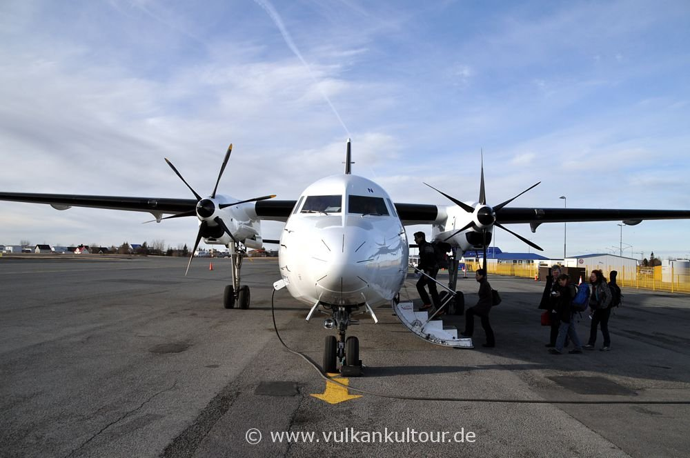 Flug mit Air Iceland