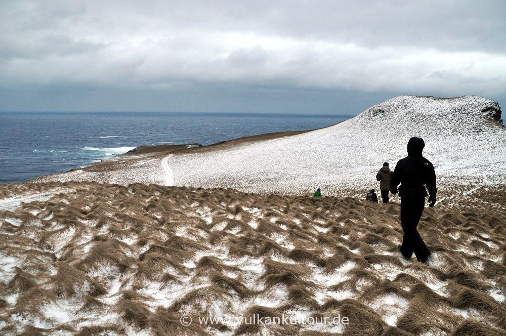 Wanderung zur Nordspitze Grímseys