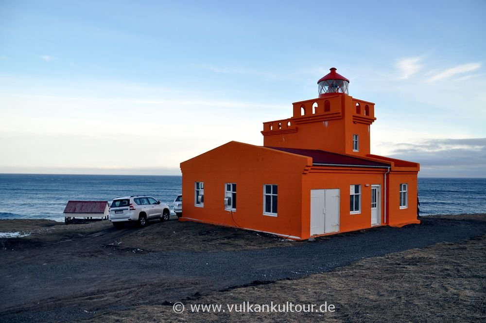 Leuchtturm bei Siglufjörður