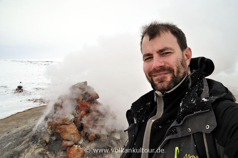 Florian im Hochtemperaturgebiet Namafjall
