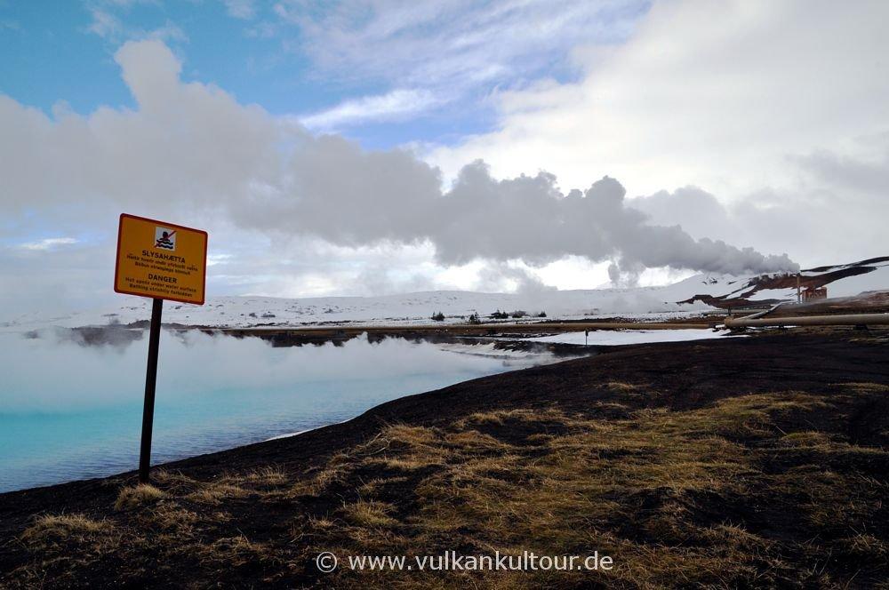 Geothermalkraftwerk Bjarnarflagstöð