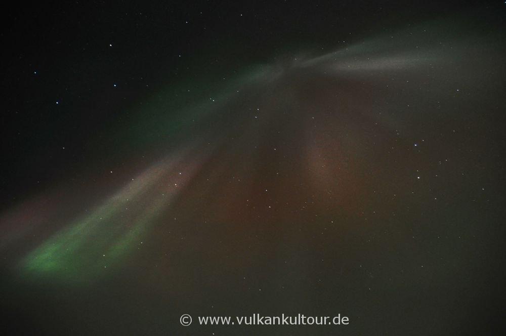 Polarlichter über dem Mývatn