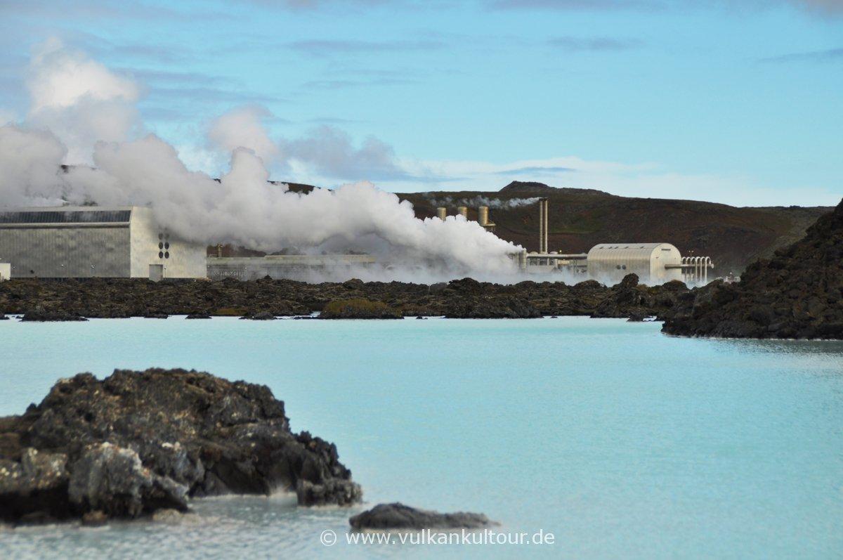 Die Blaue Lagune auf der Reykjanes Halbinsel