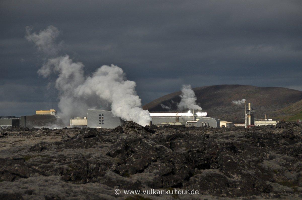 Geothermalkraftwerk Svartsengi (Reykjanes)