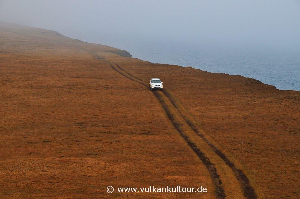Fahrt auf die Langanes-Halbinsel