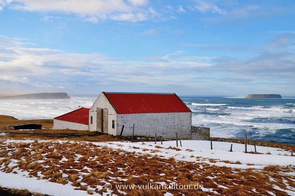 Winterstimmung in Nordisland