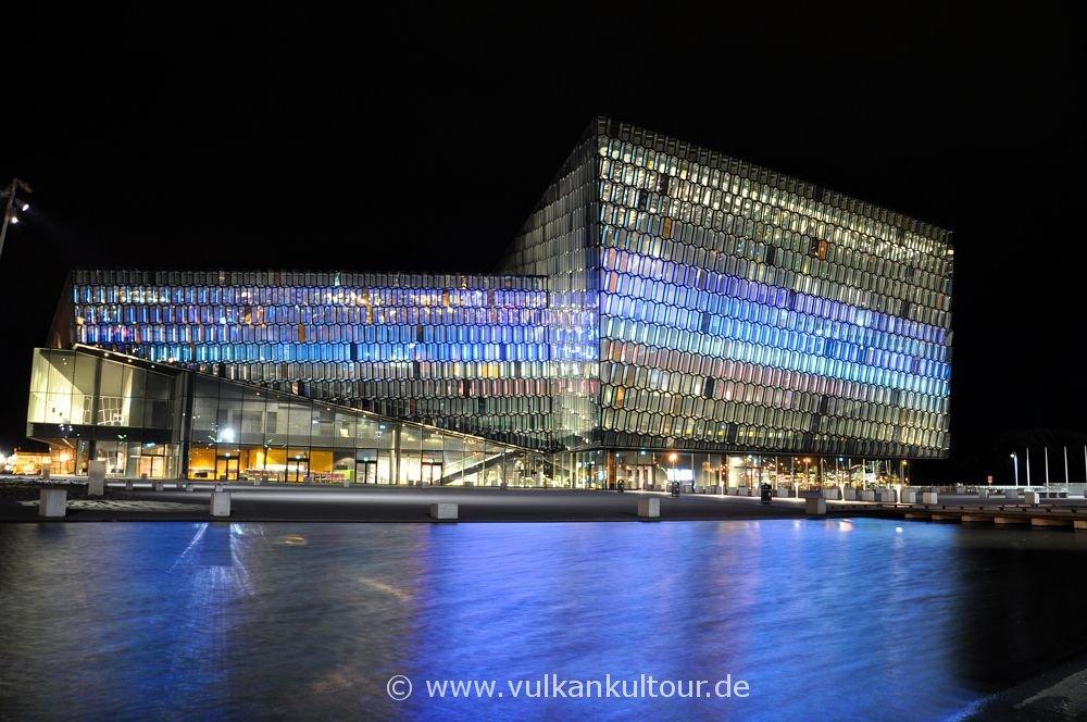 Konzertgebäude Harpa in Reykjavík