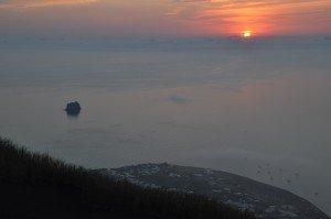 Stromboli - Sonnenaufgang