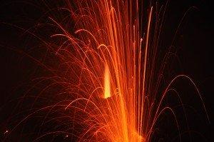 Stromboli (heiße Plasmaflamme)