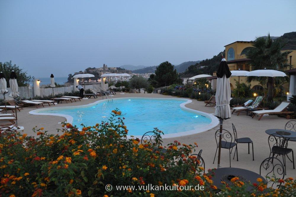 Unser Hotel auf Lipari