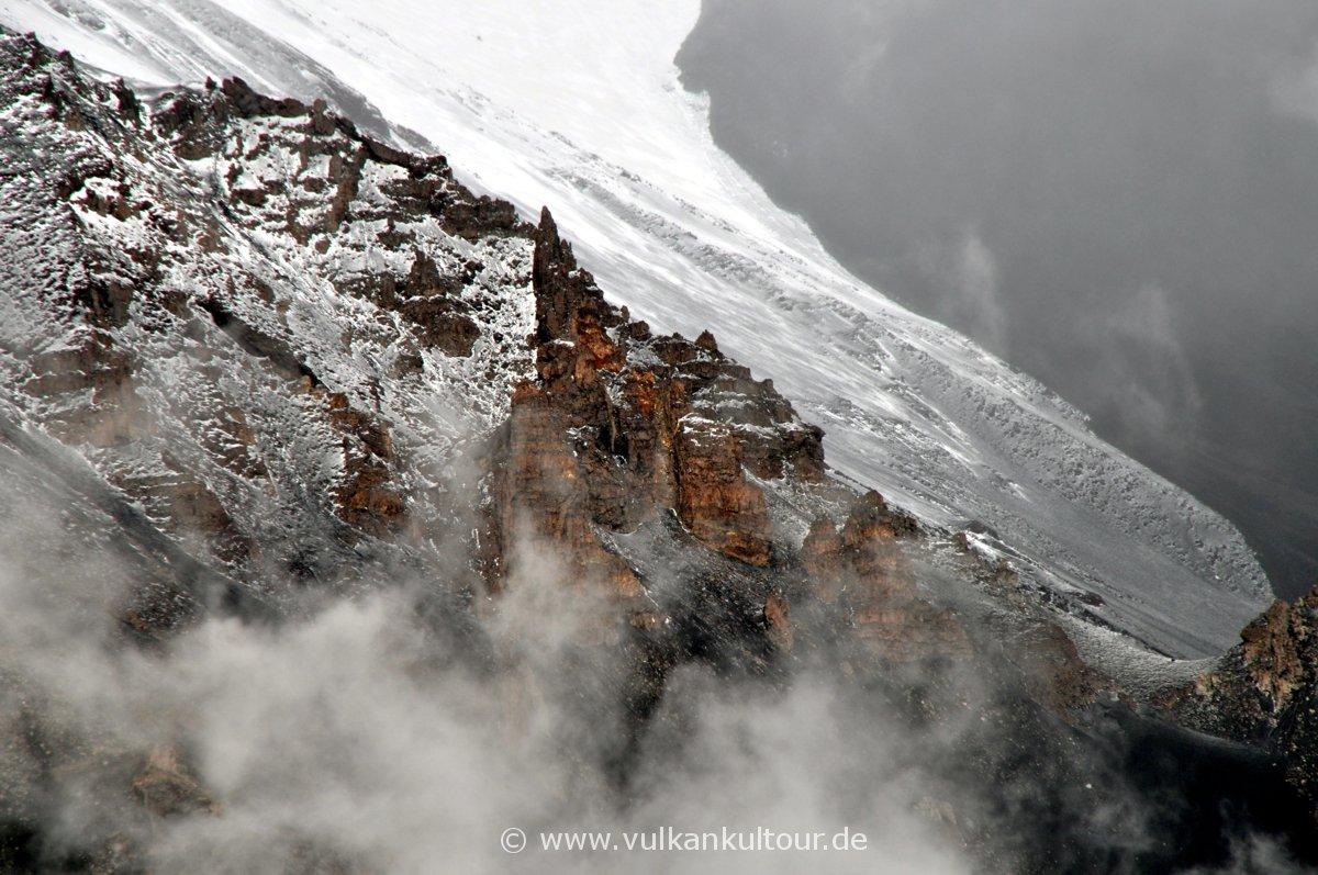 Winterliches Valle del Bove