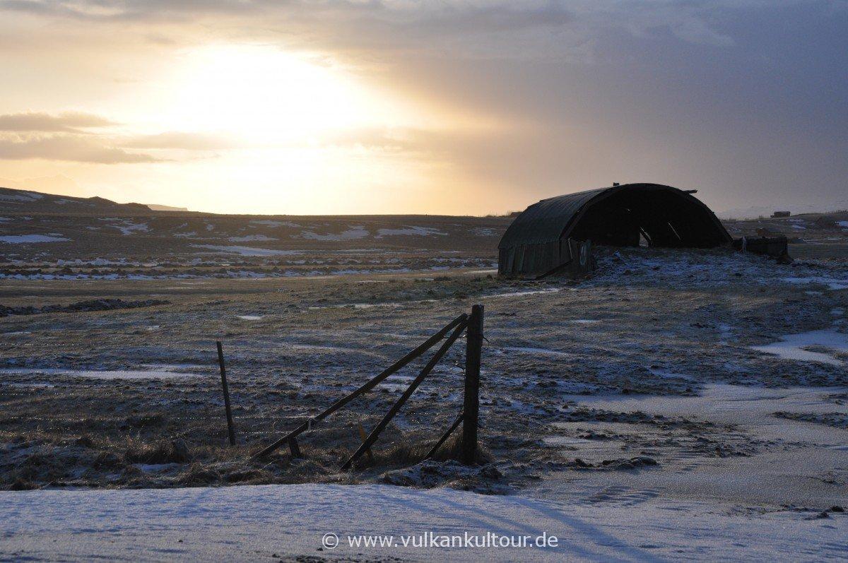 Island im Winter - fast immer tolle Lichtstimmungen