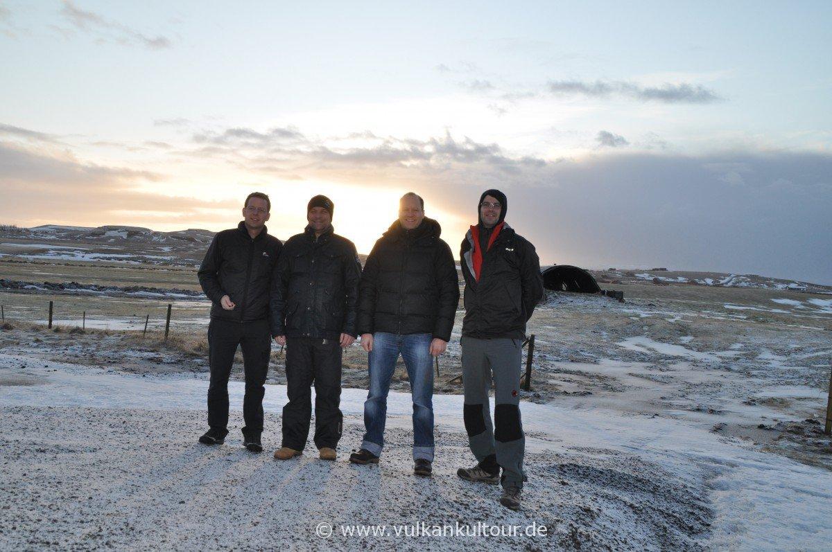 Unsere Schafkopfgruppe in Island
