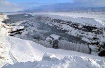 Gullfoss im Winter
