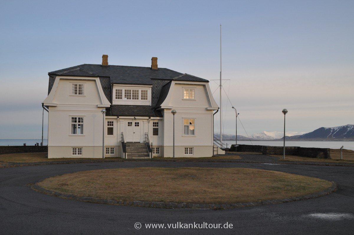 Höfði - hier fand 1986 der Supergipfel zwischen Reagan und Gorbatschow statt